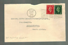1939 England Imperial Airways Crash Cover to Johannesburg South Africa UnDamaged