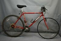 "Trek 1992 720 Multitrack Hybrid Bike Large 19.5"" Canti Cromoly Steel USA Charity"