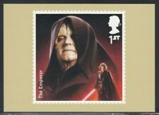 Great Britain The Emperor Star Wars Royal Mail Stamp Card