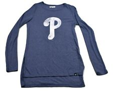'47 Brand Womens MLB Philadelphia Phillies Baseball Shirt New S