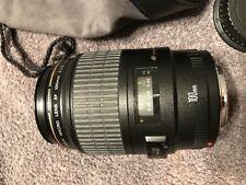 Mint—Canon EF 100mm f/2.8 Macro USM Lens