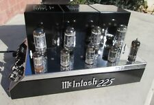 MCINTOSH MC 225 STEREO TUBE AMP WORKING VERY NICE!!