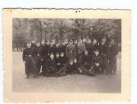 Foto 2.WK Soldaten Luftwaffe Kaserne Armee ca. 1940  Wehrmacht WW2 E5