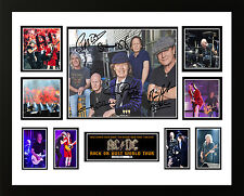 ACDC ROCK OR BUST ANGUS YOUNG SIGNED LIMITED EDITION FRAMED MEMORABILIA