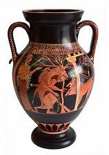 Heracles & Cerberus - Red Figure Amphora Vase-Museum Replica Herakles & Kerberos
