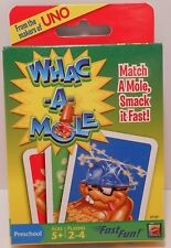 Card Game WHAC-A-MOLE - Fast Fun! - From the Makers of UNO