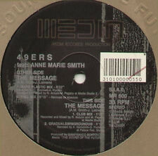 49ERS, FEAT. ANN MARIE SMITH - The Message - 1992 Media – MR 600