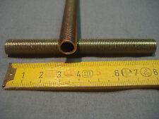 tubes filetés en acier (lot de 2) longueur 90 mm pas 10 mm par 1 mm