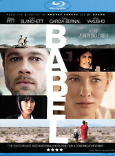 Babel (Blu-ray Disc, 2007) NEW