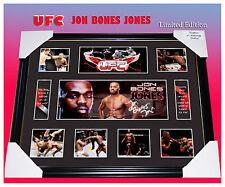 "SALE!!! JON ""BONES"" JONES UFC CHAMPION SIGNED MEMORABILIA LIMITED EDITION w/ COA"