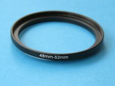 48mm to 52mm Step Up Step-Up Ring Camera Lens Filter Adapter Ring 48mm-52mm