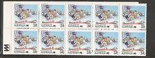 Australia Sc # 1063a Postal Services. Complete Booklet . Mnh