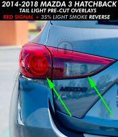 Euro Rear Lens Red//Smoke Tint Kit 2018-2019 Mustang REU