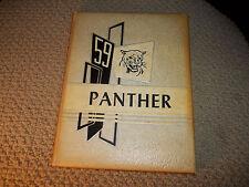 1959 OKEMAH HIGH SCHOOL YEARBOOK OKEMAH OK ~  OKLAHOMA ~ THE PANTHER