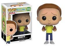 MORTY Series 1 Rick & Morty TV Adult Show FUNKO POP #113  Box NOT Mint