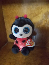 Authentic New with tags  Ty Beanie Boo Izzy the Ladybug 6 inches US SELLER!
