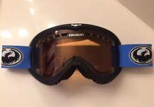 Dragon Snowboard Goggles Ski Snowmobile Black Blue Strap Red Snow Skiing Glasses
