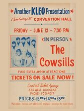 """Cowsills 16"""" x 12"""" Reproduction promo Poster Photo"""