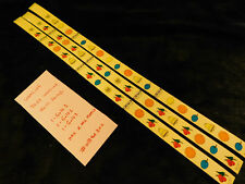 WATLING BABYBELL GOLD AWARD REPRO WATLING ANTQ SLOT MACHINE REEL STRIPS #WBGA300