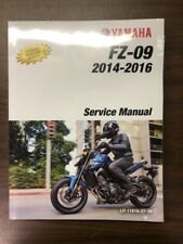 Yamaha FZ®-09 Service Manual - Fits 2014 - 2016 - Genuine Yamaha - New