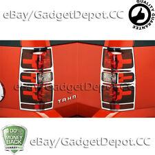 For 2007-2010 2011 2012 2013 2014 Chevrolet Tahoe Chrome Tail light Covers Bezel