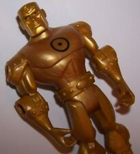 Batman Brave And The Bold Gold Metal Man Action Figure