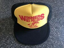 Vintage Winners Bee Pollen Baseball Cap * Otto Cap * Adjustable * Mesh Back