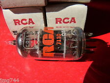 5814A ECC82 RCA Black Plate NUOVO VECCHIO STOCK Valvola Tubo MD