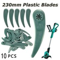 10Pcs ART23-18 Li/26-18Li Grass Strimmer Trimmer DuraBlade Blades For Bosch