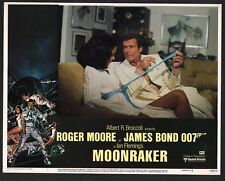 JAMES BOND MOONRAKER U.S. SET OF 8 LOBBY CARDS RARE ROGER MOORE 1979