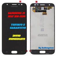 DISPLAY LCD+ TOUCH SCREEN SAMSUNG GALAXY J3 2017 SM-J330F NERO SCHERMO VETRO