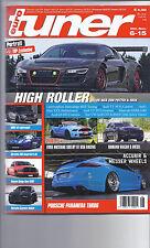 Autozeitschrift euroTuner  6/2015 BMW X4, Porsche Panamera, Dodge, Merc. C63 S