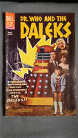Dr. Who and the Daleks (1966) FN/VF Dell Comics $4 Combined Shipping 1st US app