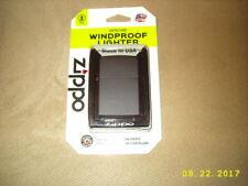 ZIPPO-218 BP- WIND PROOF- REG BLACK MATTE LIGHTER-BRAND NEW! SEALED!