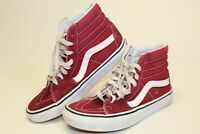 VANS Off The Wall Womens 6 36 High Lace Up Skateboard Sneakers Shoes 751505