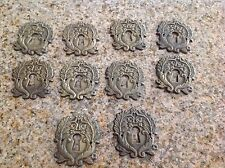 Antique  Single key hole Set Of 10