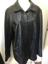 SZ 14 SPORTSCRAFT LEATHER JACKET   *BUY FIVE OR MORE ITEMS GET FREE POST