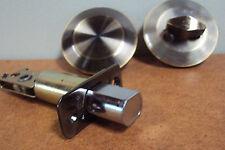 B & K Kwikset Keyless In  Side Dead Bolt Lock Brass Finish, New  20 available