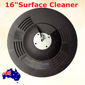"""16"""" Flat Rotary Surface Cleaner for Pressure Washing Driveways Sidewalks Patios"""