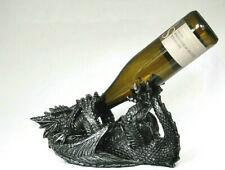 Drachen Weinflaschenhalter Fantasy Figur 31 cm Gothic Guzzler