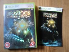 Bioshock 2 Case for XBox 360 - Empty Box and manual Only