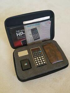 Hewlett Packard HP-21 Calculator, Case, Battery Pack, Charger, docs, works great