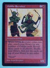MTG MAGIC Carte GOBLIN RECRUITER  Ext. VISIONS 1996