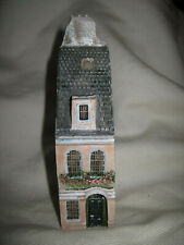 """Gault Miniature Porcelain Building Made in France 4-7/8"""" Tall"""