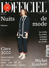 L'OFFICIEL March 2017 NUITS Vol 1 CLARA 3000 & MICHEL GAUBERT Marina Nery @NEW@