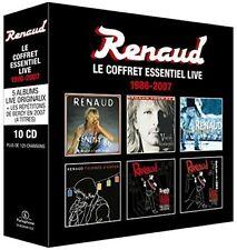 Le Coffret Essential Live 1986-2007 - 10 DISC SET - Renaud (2017, CD NEUF)