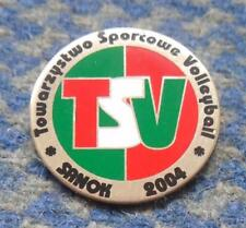 TS VOLLEYBALL SANOK POLAND VOLLEYBALL CLUB  PIN BADGE