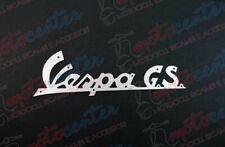 2273- Plaque Vespa Gs Aluminium