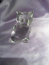 Figurine Cristal Chouette Hibou - Villeroy Et Boch - Sublime !