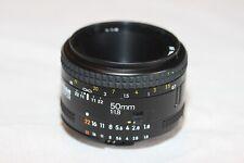 Nikon AF Nikkor 50mm f1.8 lens